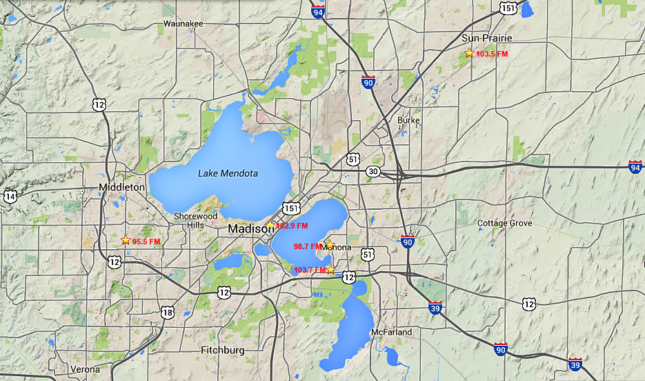 LPFM Radio Stations In The Greater Madison WI Area
